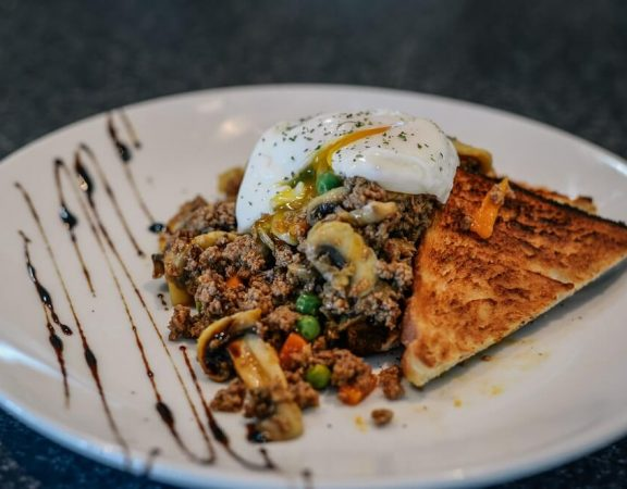 Savoury Mince in a plate